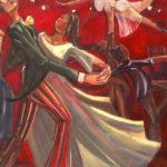 peinture de danse