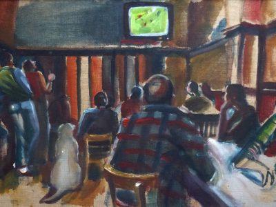 The cafes of Brussels - 'La Casa Chanca'