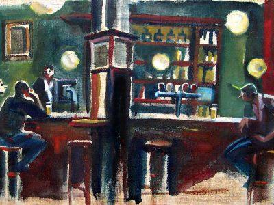 The cafes of Brussels - 'Le Dépot'