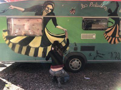La caravane de Virginie Pierre