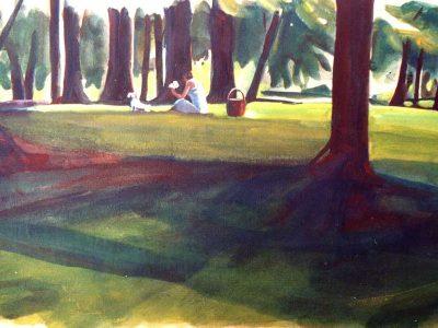 Parks - 'Au Bois de la Cambre'
